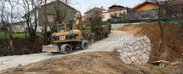 Cuevas Gestión de Obras S.L comienza el saneamiento de las Marismas Negras en Astillero, Cantabria