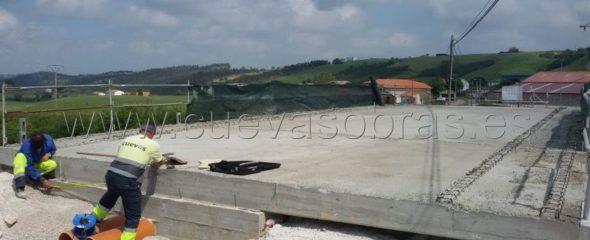 Avanzan las obras de mejora de acceso a Gornazo