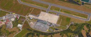 Urbanización del punto de recogida de residuos del Aeropuerto Severiano Ballesteros