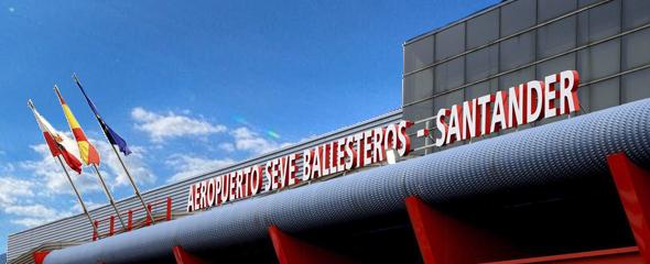 Adjudicada la obra de la rotonda del Aeropuerto Seve Ballesteros de Santander