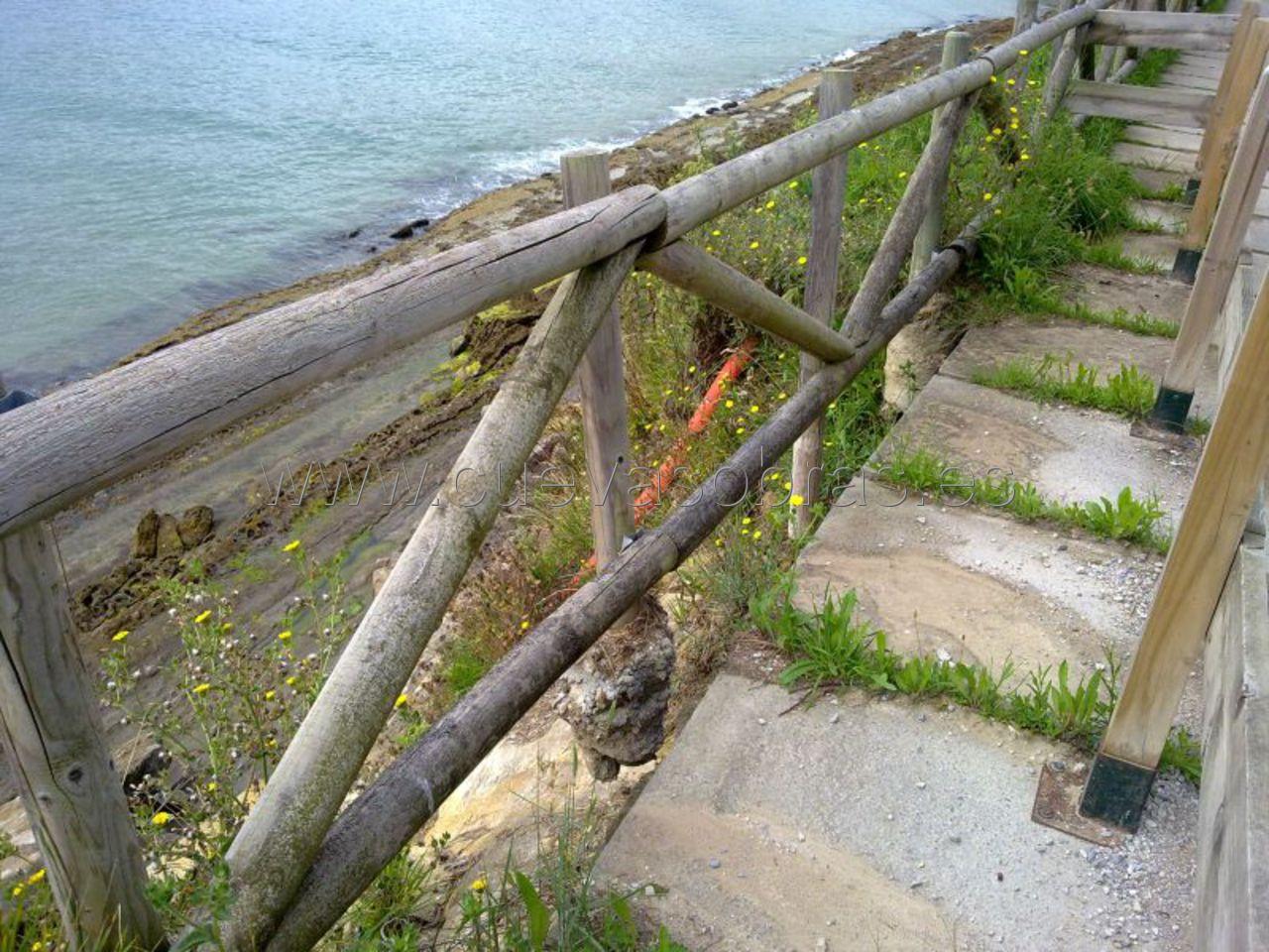 Se inició la reparación de la senda de Mataleñas, Santander.