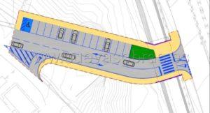 Adjudicada la construcción de vial en el parque Miravalles, Torrelavega.