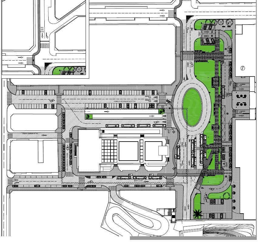 Adjudicada las obras de la Plaza de las Estaciones de Santander