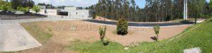 Finalización de los trabajos para la adecuación del entorno del Tanatorio Río Cabo en Torrelavega, Cantabria