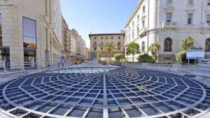 Las obras de la calle Cádiz de Santander estarán acabadas en un mes.