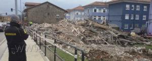 Realizada la demolición de vivienda unifamilar en Barreda, Torrelavega