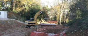 Cuevas Gestión de Obras SL acomete la separación de aguas en Solares