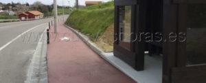 Concluyen las obras de la senda peatonal Cortiguera-Hinojedo