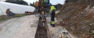 Finalizada la obra del saneamiento en San Martin en Isla