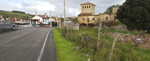 Construcción de un paseo peatonal en Bareyo