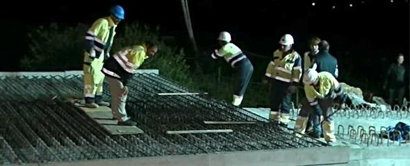 Video del proceso de construcción del puente de Gornazo, Cantabria