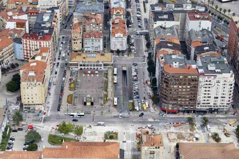 Plaza De Las Estaciones Santander 3 cantabria
