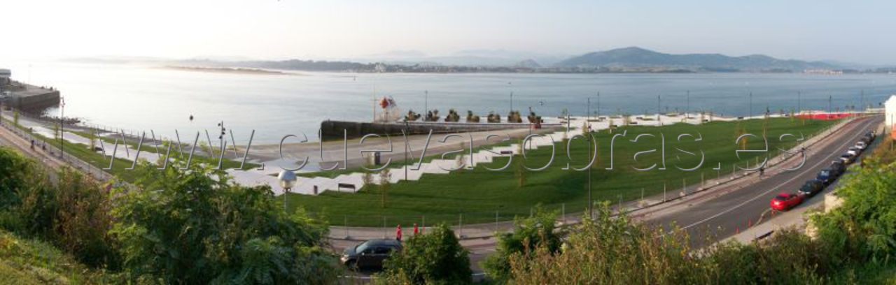 Acondicionamiento de la explanada del muelle de Gamazo, Santander