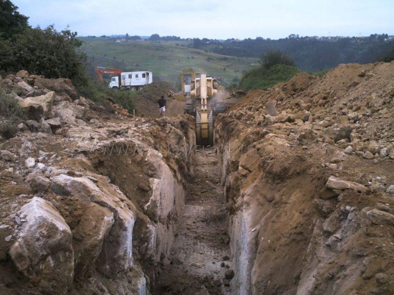 Ejecución de la Autovía del agua. Tramo: Unquera - Muñorrodero