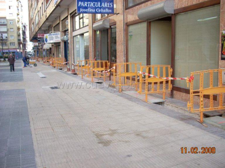Mejora de redes en la calle Poeta José Luís Hidalgo