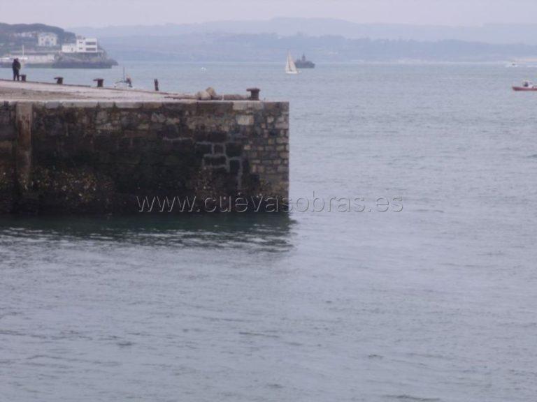 Reparación de muelle Gamazo en el Puerto de Santander