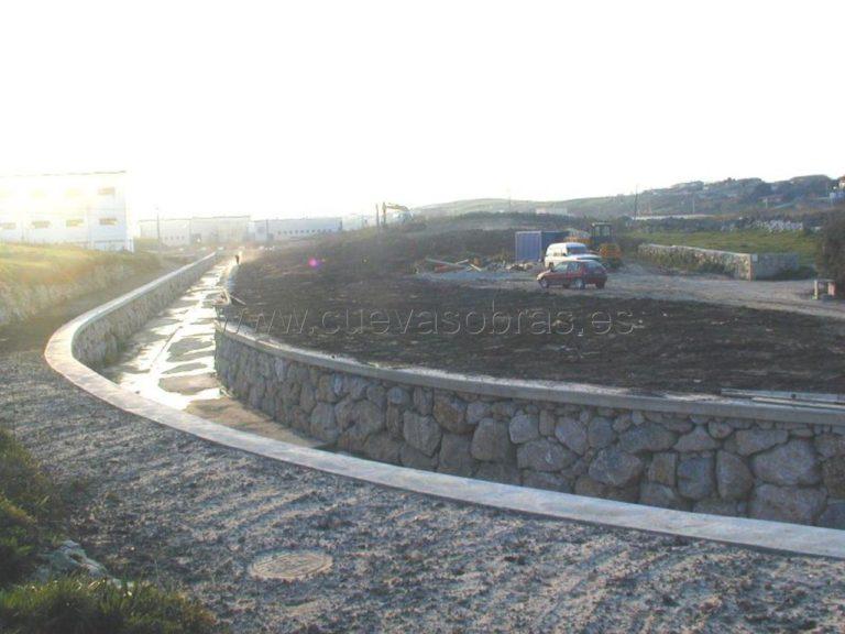 Encauzamiento del canal de San Román
