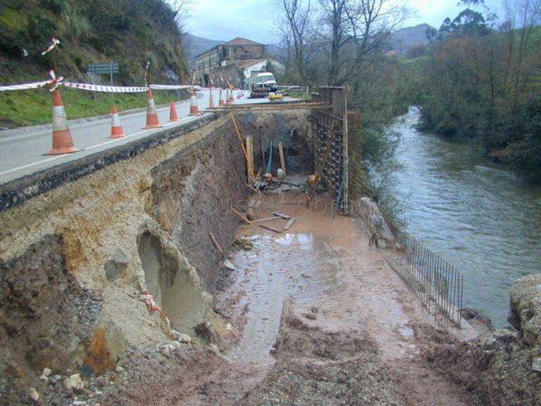 """Obra de emergencia """"Reparación de muro en Ceceñas"""