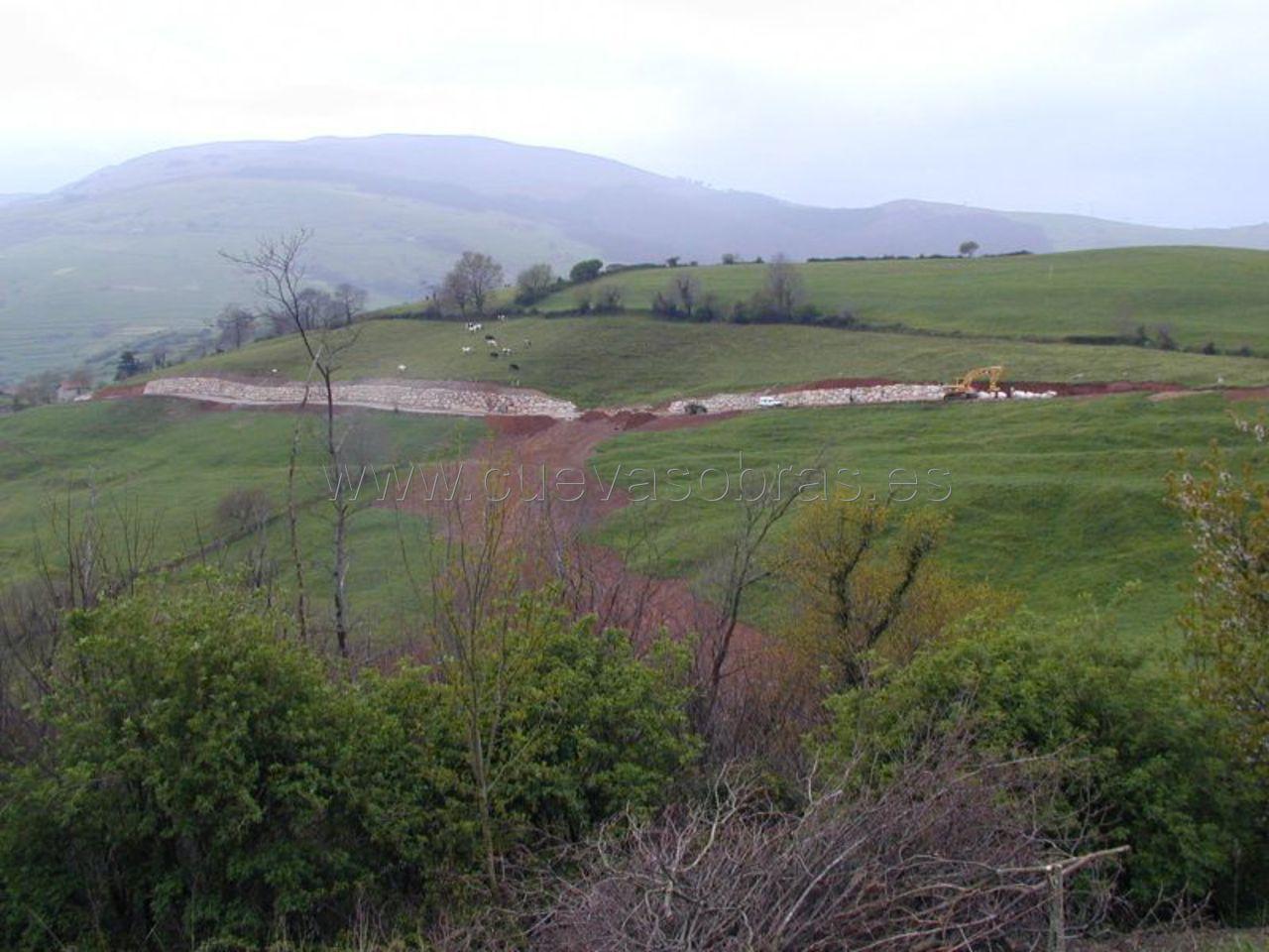 Mejora y afirmado de la carretera de Sandoñana a San Martín, Cantabria. 2ª Fase.