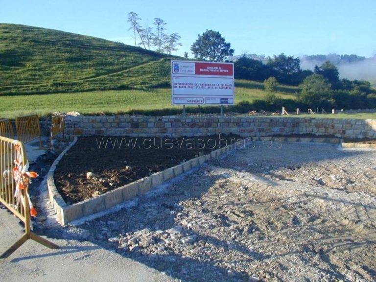 Remodelación del entorno de la colegiata de Santa Cruz