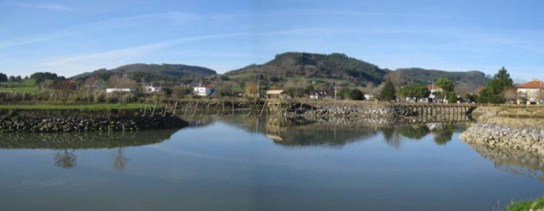 Levantamientos de rellenos en las marismas de Santoña