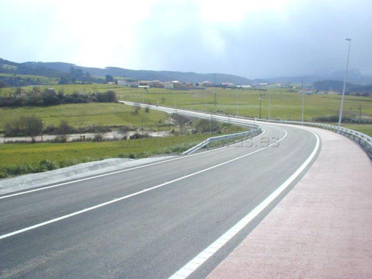 Ejecución del tramo de carretera Polanco - Posadillo en la CA-330. Cantabria.