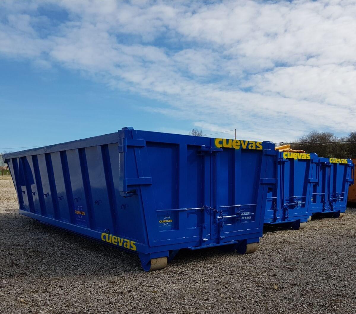 Cómo se pueden alquilar los contenedores de obra en Cantabria