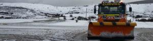 Mantenimiento de carreteras y vialidad invernal en Cantabria con Cuevas Obras
