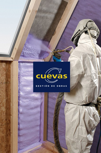 Espumas Poliuretano Cuevas Obras Cantabria Santander Torrelavega Polanco cantabria