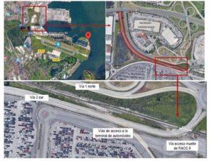 Renovación doble vía de FFCC de acceso al Puerto