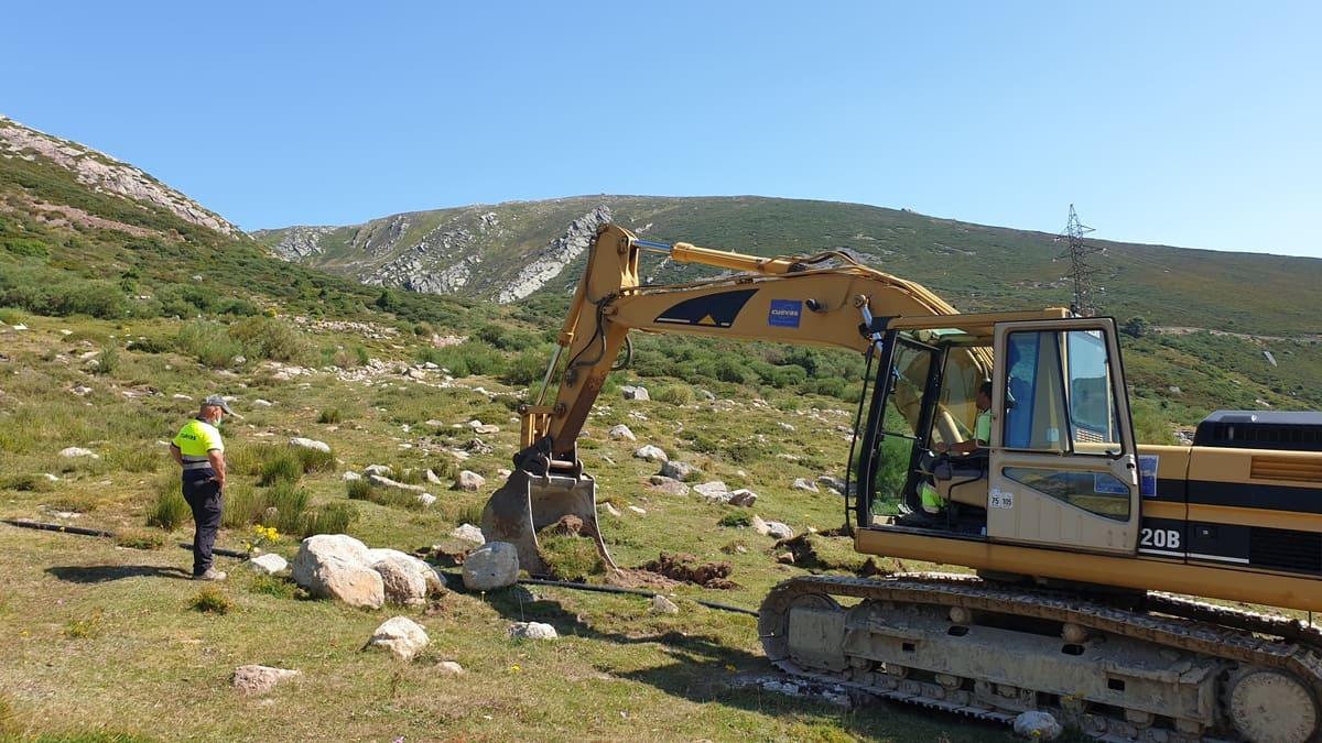 Renovación de cabecera y de las conducciones del sistema de abastecimiento de agua potable al sector de Calgosa, en la Estación de Esquí- Montaña de Alto Campoo (Actuación 1)